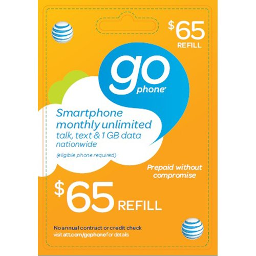 Interactive Commicat At&t Mobility $65 Card