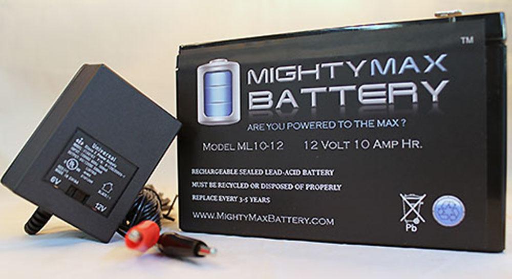 Mighty Max Battery 12V 10AH Liebert UpStation S SB-6KVABATKIT UPS Battery 4 Pack Brand Product