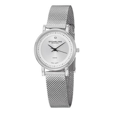 - Stuhrling Original Women's Lady Casatorra Elite Diamond Swiss Quartz Bracelet Watch