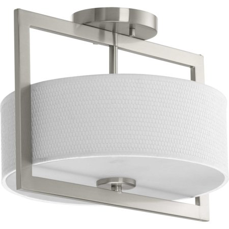 Harmony Collection Three-Light 11-3/4u0022 Semi-Flush Convertible