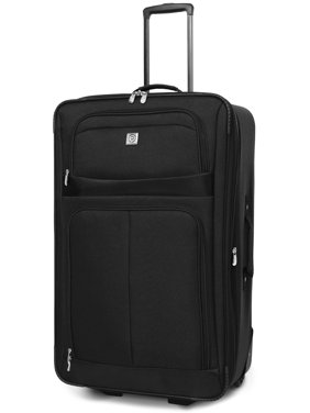 "Protege 28"" checked Regency 2-wheel upright luggage (Walmart Exclusive)"