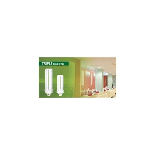 Overdrive 57W Triple Tube 4 Pin CFL -3500K, Pack Of 50