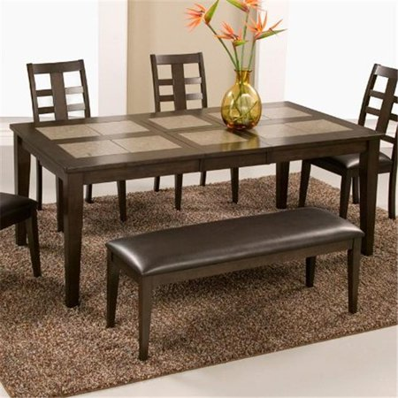 Alpine Furniture Piedmont Tile Top Dining Table With - 30 x 60 dining room table