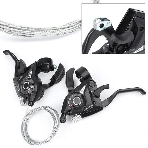 2pcs Bike Shift Levers 21Speed Shifter Trigger Compatible ST-EF51-7 Hand Brakes