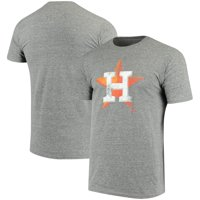 dc010679 Product Image Houston Astros Fanatics Branded Distressed Tri-Blend T-Shirt  - Heathered Gray