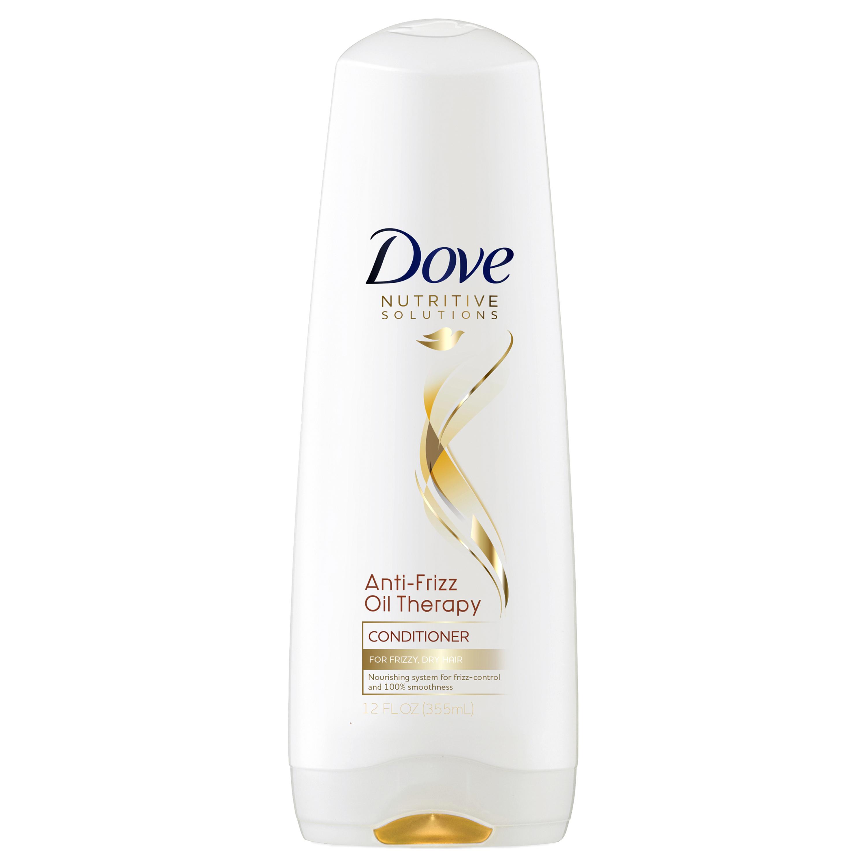 Dove Nutritive Solutions Anti-Frizz Oil Therapy Conditioner, 12 oz