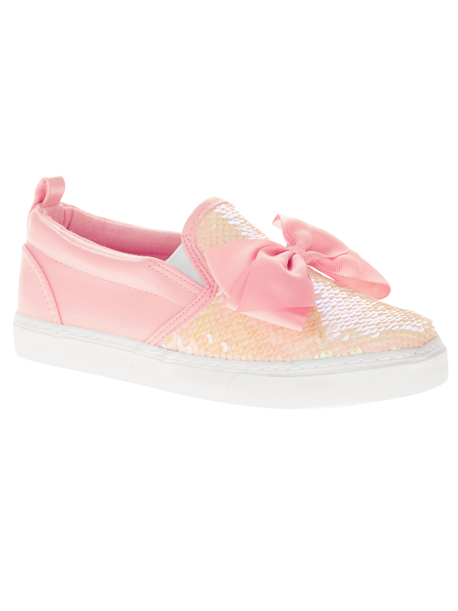 Jojo Siwa Girls' Sequin Casual Slip-on
