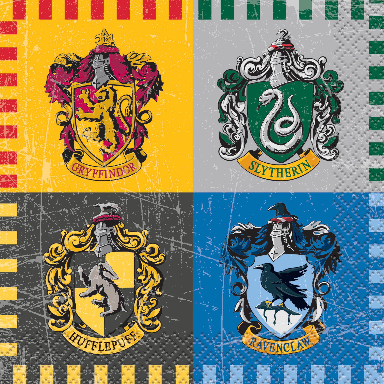 Harry Potter Paper Beverage Napkins, 5in, 16ct