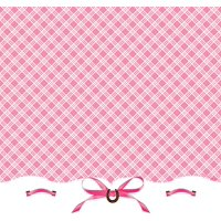 """725601 Heart My Horse Border Print Plastic Tablecover, 54 by 108"""", Pink, Border print plastic tablecover By Creative Converting"""