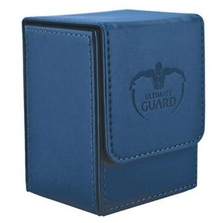 Flip Deck Box - Leather, Dark Blue (100+) New
