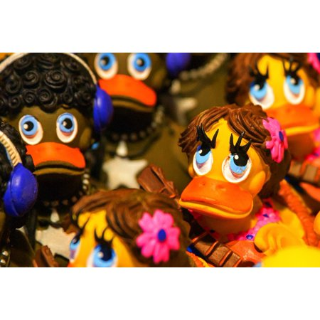 LAMINATED POSTER Duck Bath Duck Rubber Duckies Plastic Rubber Duck ...