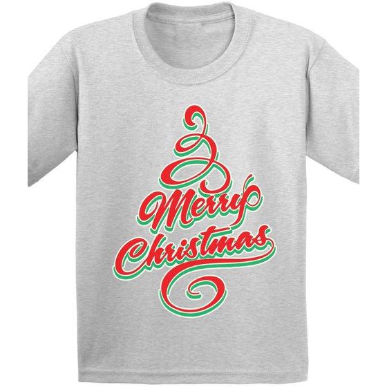 ecee8d8f6 Awkward Styles Merry Christmas Kid's Christmas Tshirt Christmas Shirts for  Boys Christmas Shirts for Girls Christmas Tree Holiday Shirt Christmas  Shirts for ...