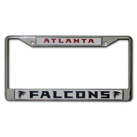 Chrome License Plate Frame - Atlanta Falcons - Walmart.com