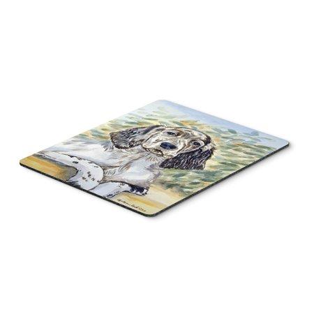 English Setter Mouse Pad, Hot Pad or Trivet