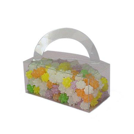 Circle Handle Clear PVC Box 5