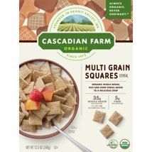 Breakfast Cereal: Cascadian Farms Multi Grain Squares