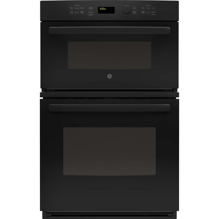 GE Appliances JK3800DHBB 27 Inch Electric Double Wall Oven/Microwave Combo