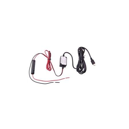 Spy Tec Dash Cam Hardwire Kit with Micro USB- K1S, Mini 0806, Mini 0805, Z Edge and F170HD (Spy Cam Kit)