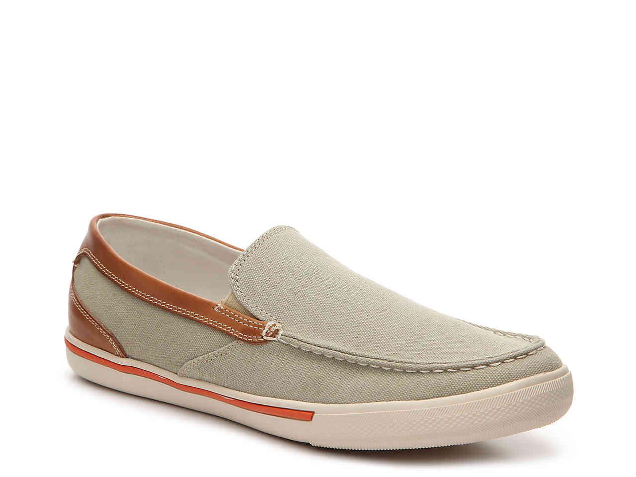 Tommy Bahama Mens Costa Venetian Slip On Sneaker (Twill, 9.5) by