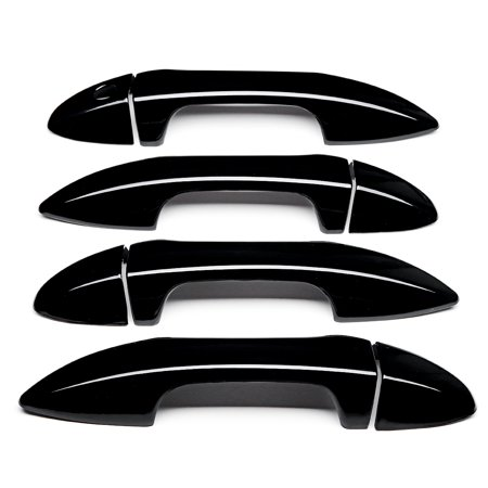 Outside Door Handle Cover Covers Gloss Black For Toyota Corolla 2014 2015 2016 2017 2018