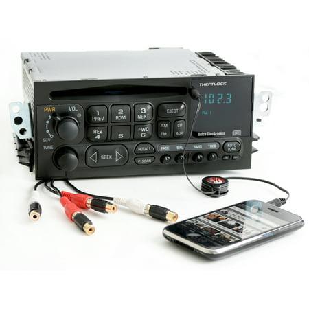 Chevy GMC 1995-2005 Truck Car Van Radio AM FM CD Player w Aux Input & RCA Output - Refurbished