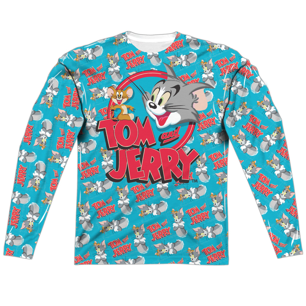 Trevco Tom And Jerry Double Trouble (Front/Back Print) Me...