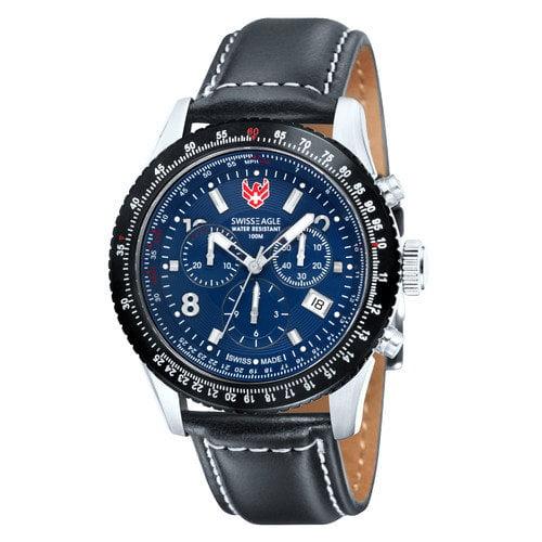 Swiss Eagle Men's Flight Deck Watch