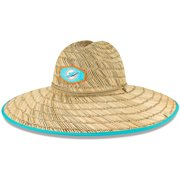 Miami Dolphins New Era Tide Lifeguard Straw Hat - Natural - OSFA