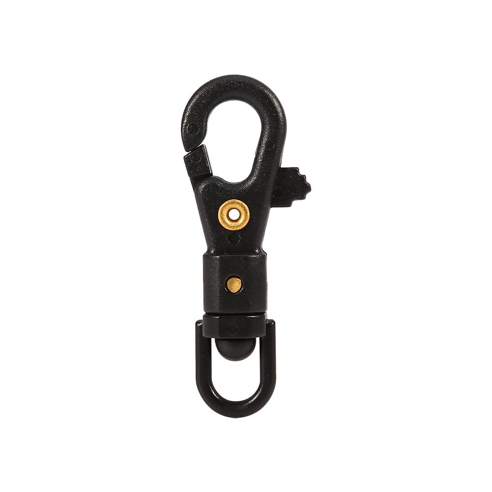 5pcs 360º Swivel Spring Snap Carabiner Clip Hanging Hook Keychain Outdoor