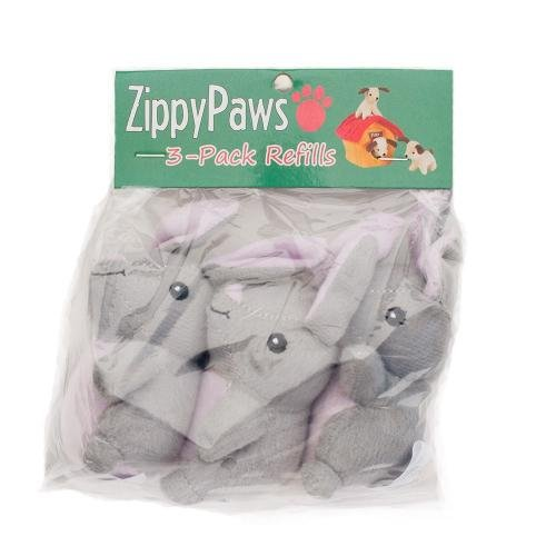 ZIPPY PAWS BURROWS 3 PACK BUNNIES REFILL
