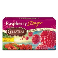 Celestial Seasonings Raspberry Zinger Herbal Tea, 20 Count Box