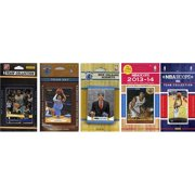 CandICollectables PELICANS514TS NBA New Orleans Pelicans 5 Different Licensed Trading Card Team Sets