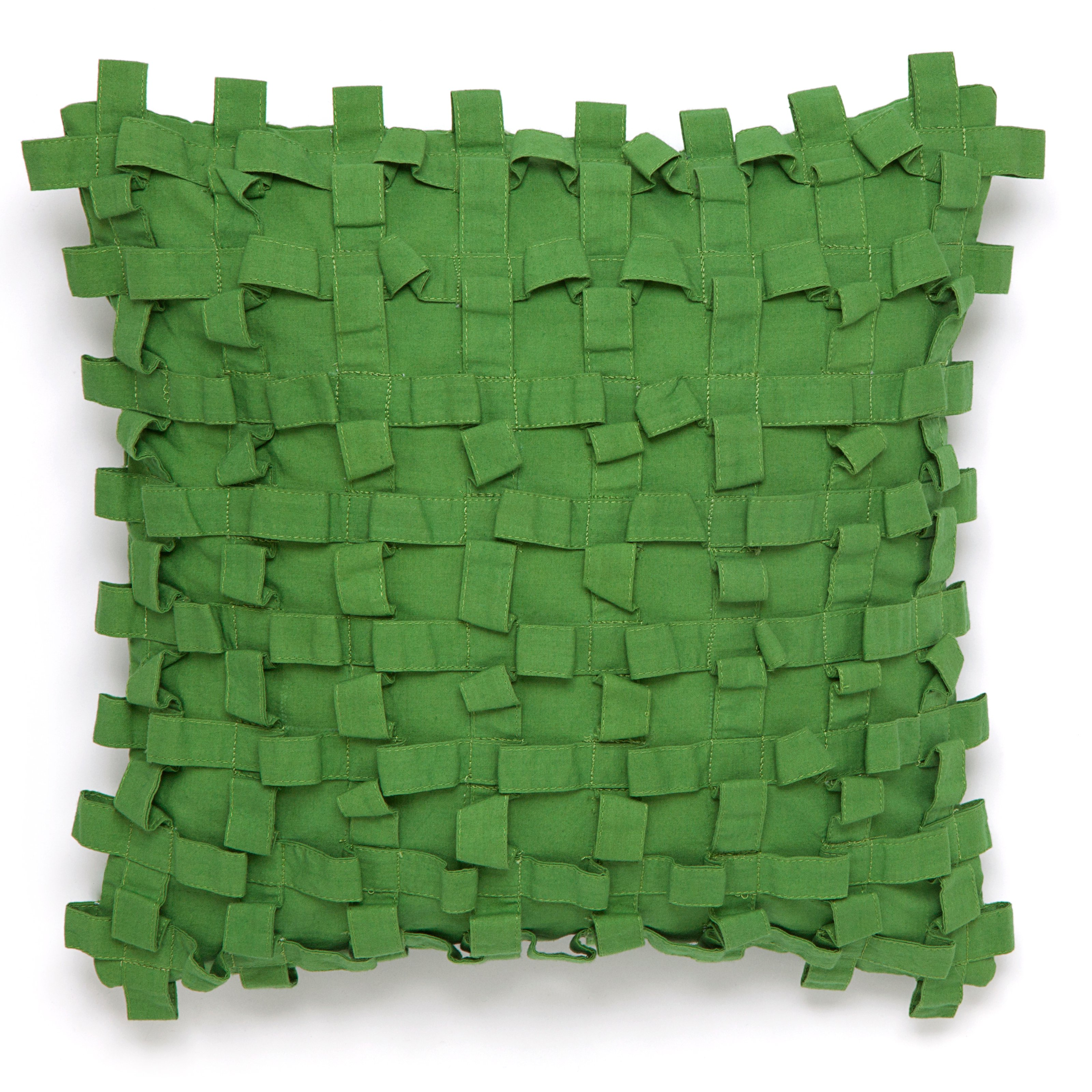 Collier Campbell Pondicherry Green Decorative Pillow