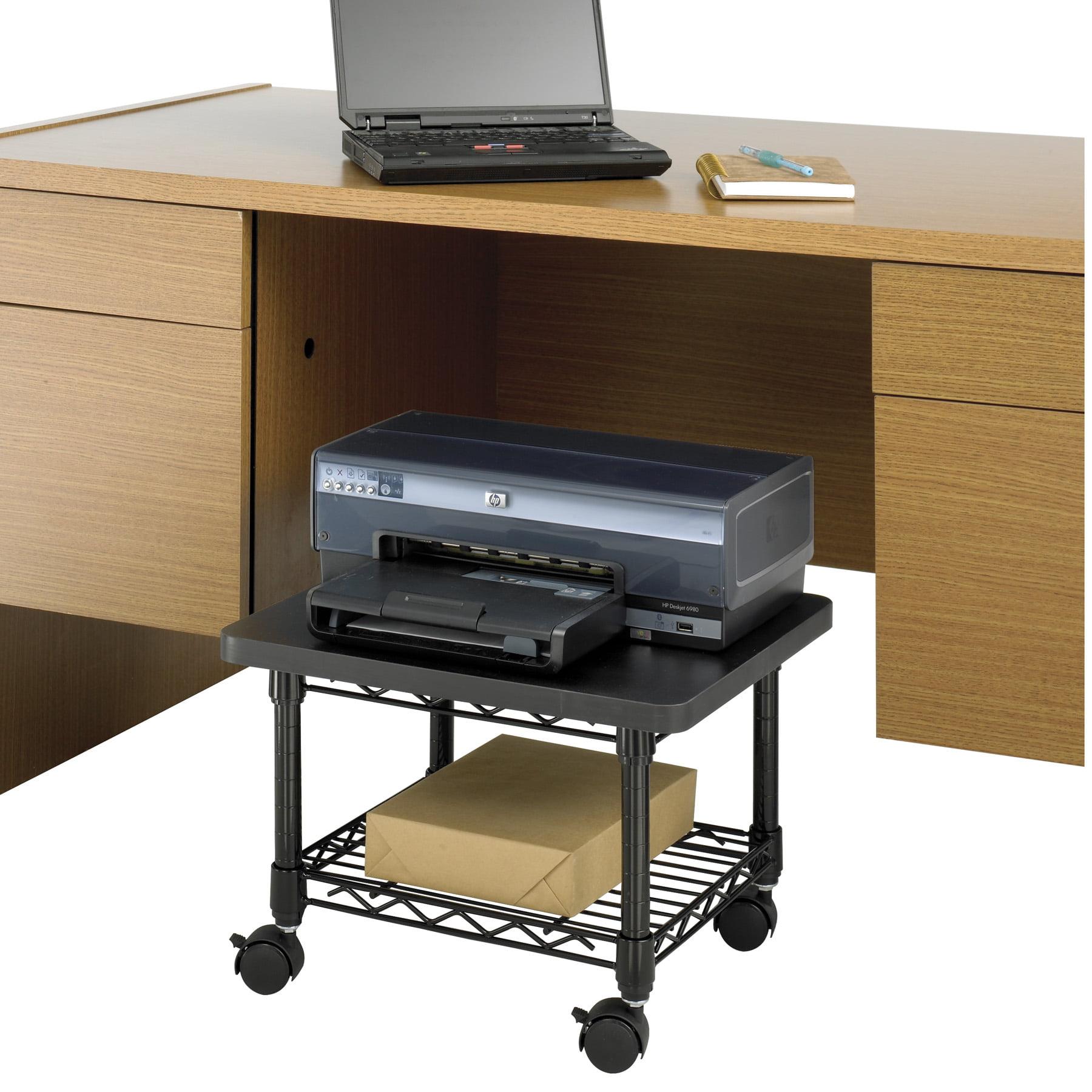 Safco Under Desk Printer Fax Stand Multiple Colors Walmart Com
