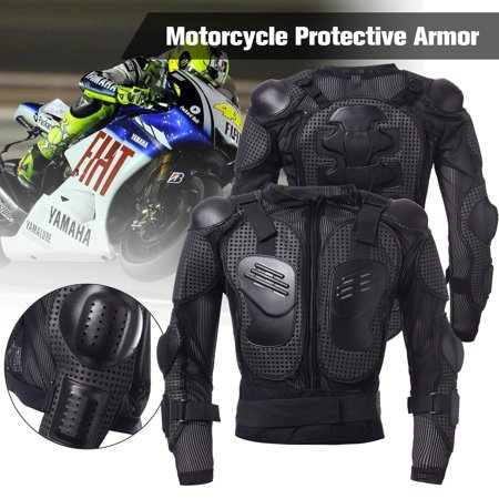- Full Body Armor Motorcycle Jacket Spine Shoulder Chest Protection Riding Gear Protective Riding Guard Jacket S/M/L/XL/XXL/XXXL