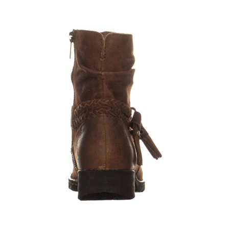 Born Ouvea Braid Ankle Boots, Rust - image 2 of 6
