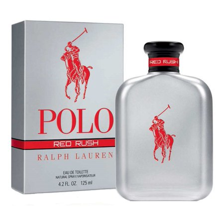 d00702f50b POLO RED RUSH * Ralph Lauren 4.2 oz / 125 ml Eau de Toilette Men Cologne  Spray - Walmart.com