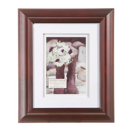 Portrait 8 x 10 Ornate Wooden Picture Frame: Espresso](Wooden Photo Frames)