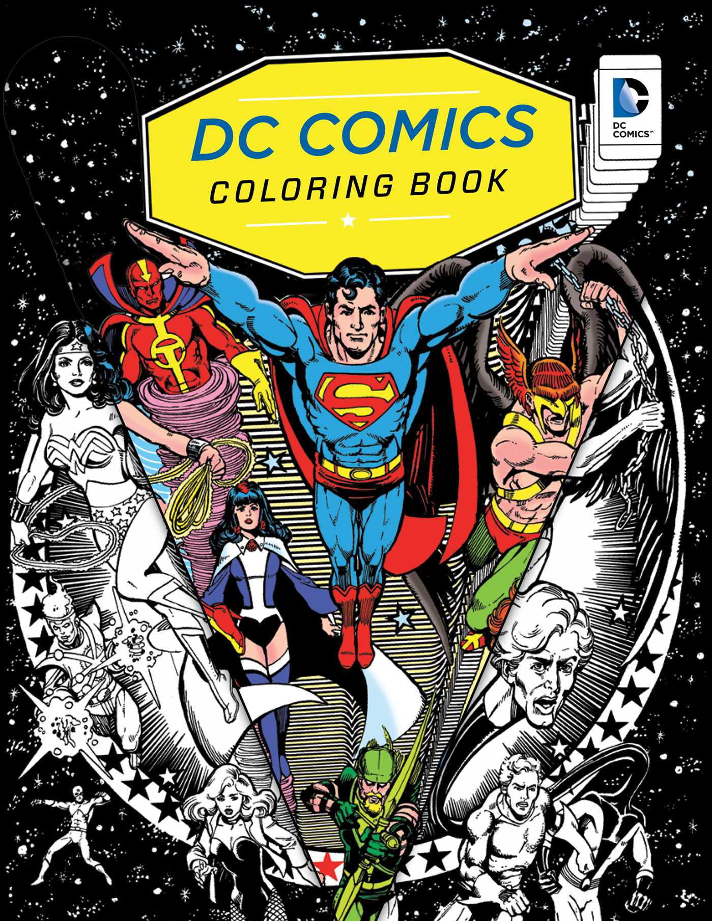 DC Comics Coloring Book - Walmart.com