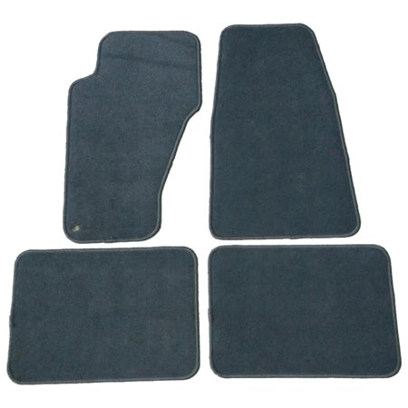 Grand Cherokee Front Floor (Fits 99-04 Jeep Grand Cherokee Floor Mats Carpet Front & Rear Gray 4PC -)