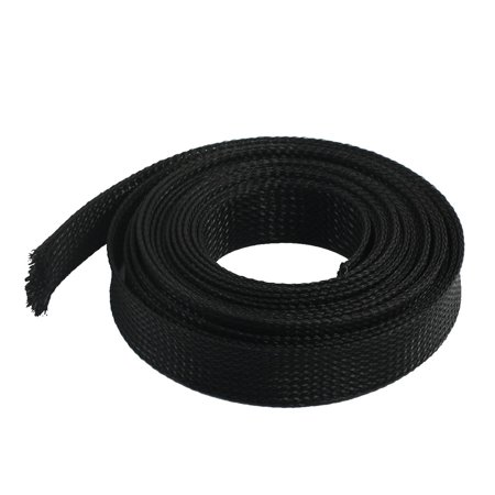 Nylon Braided Sleeving Split Burst Pipe 20mm Width 10ft 3meters Long