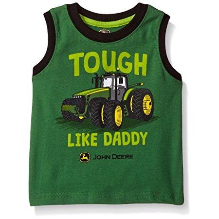519961b01 John Deere - John Deere Baby Toddler Boys' Graphic Tee, Green/Black, 3T -  Walmart.com