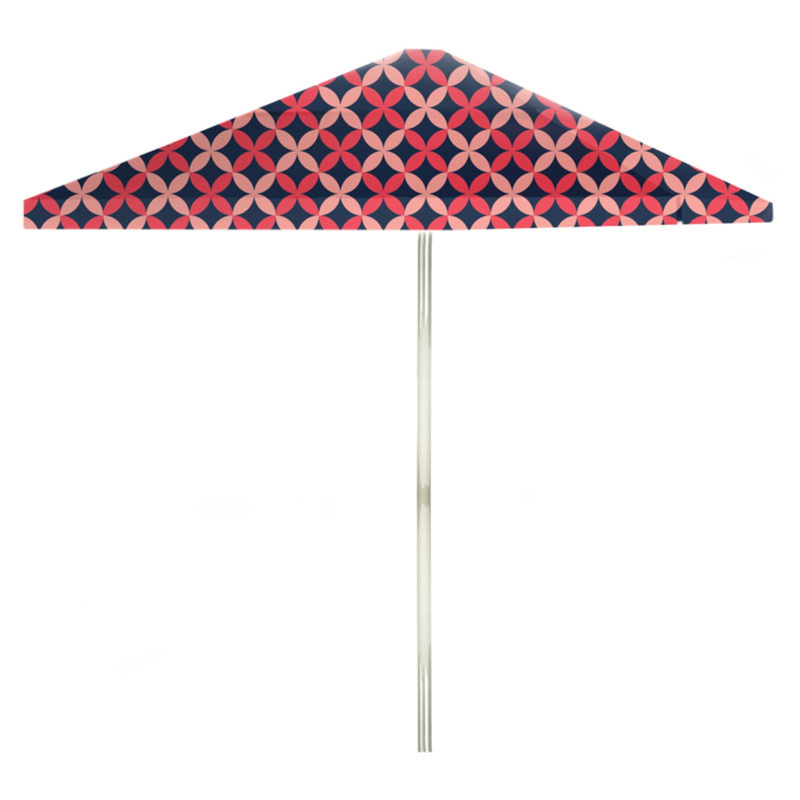 best of times 8 ft aluminum patterned patio umbrella