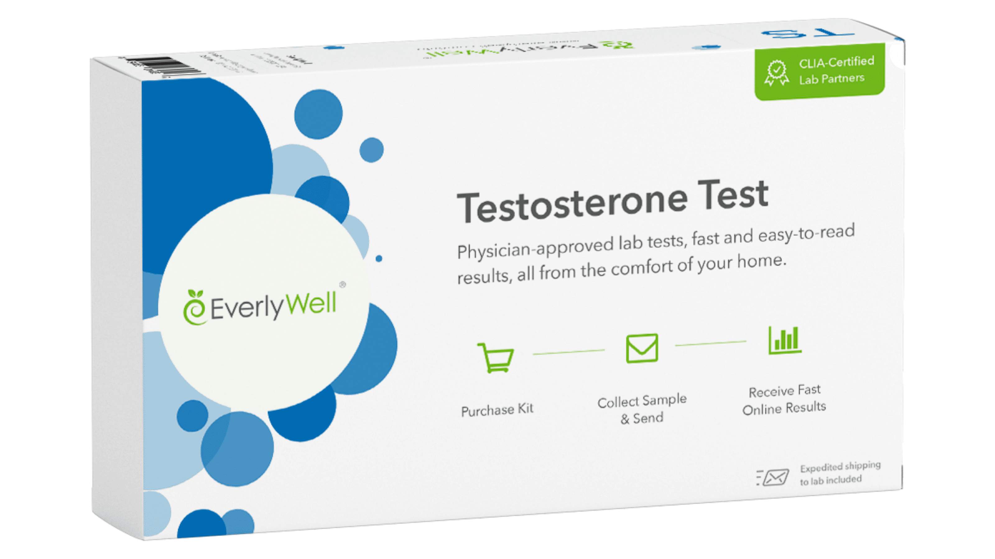 EverlyWell At-home Testosterone Test - Check to see if you