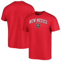 New Mexico Lobos Fanatics Branded Campus T-Shirt - Red