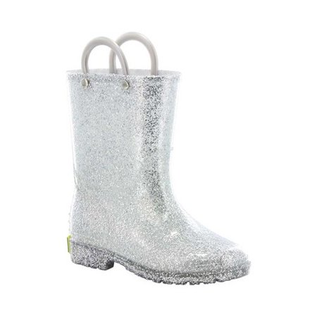 Girls' Glitter Rain Boot