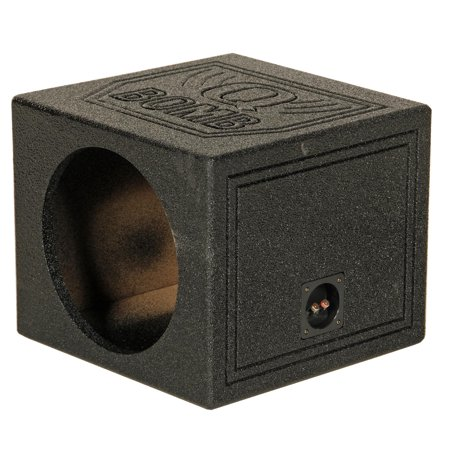 Q-POWER QBOMB15S QBOMB 15 Inch Sealed Car Single Subwoofer Sub Box (Best 15 Inch Woofer)