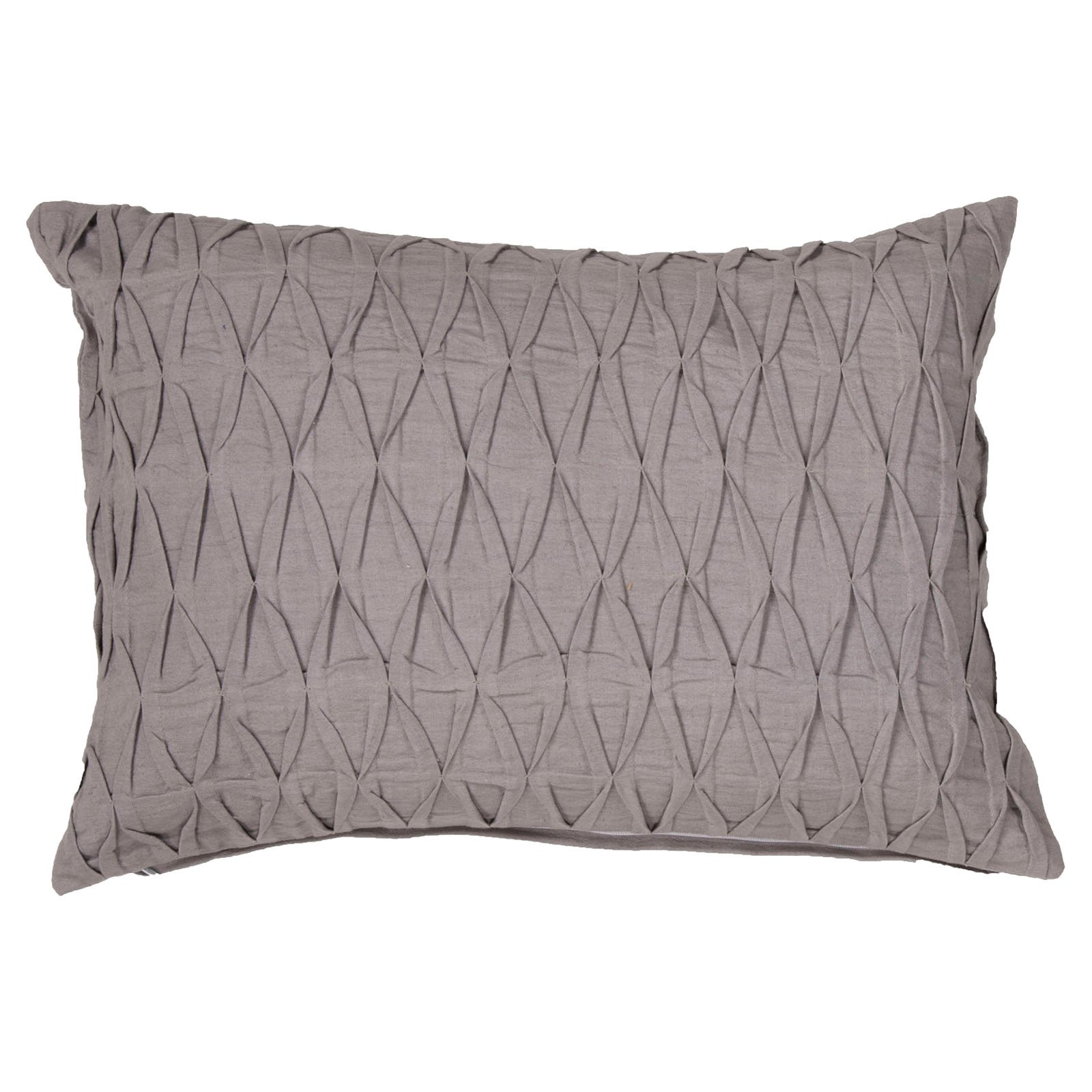 Jaipur Petal Cotton and Linen Decorative Pillow