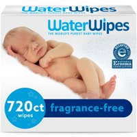 WaterWipes Sensitive Baby Wipes, Unscented (Choose Your Count)