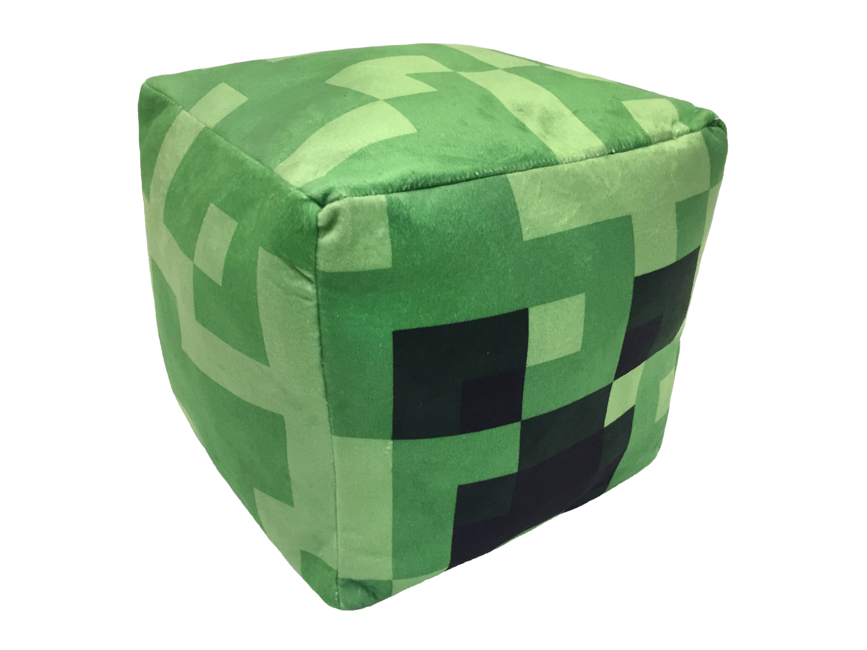 Minecraft Creeper Cube Pillow, Kid's Bedding by Jay Franco